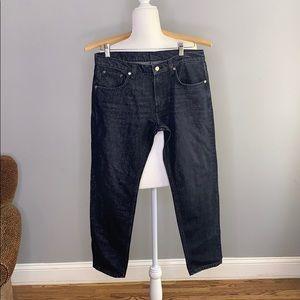 Zara Women Black Sparkle Skinny Jeans 32